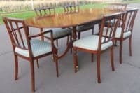 SOLD - Strongbow Mahogany Dining Room Suite